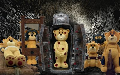 Featured Series: Bad Taste Bears at the Dungeons